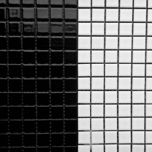 Gloss Black & White 25x25mm JM29 & JM5