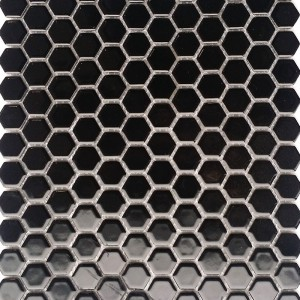 Ceramic Hexagonal Black PPM889