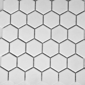 White Matt Hexagonal PPM894